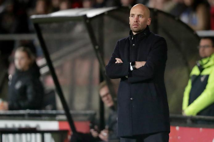 Mitchell van der Gaag, trainer van Jong Ajax.