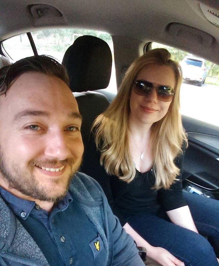 Liam en zijn vrouw Michelle.