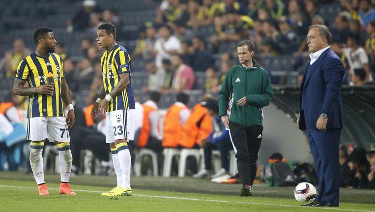Dick Advocaat, coach van Fenerbahçe Beeld ANP