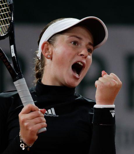 Ancienne lauréate, Ostapenko élimine facilement la tête de série N.2 Karolina Pliskova