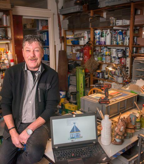 'Luchtfietser' Jack Hage (55) uit Ermelo zweert bij zijn plan voor ondergrondse windmolens