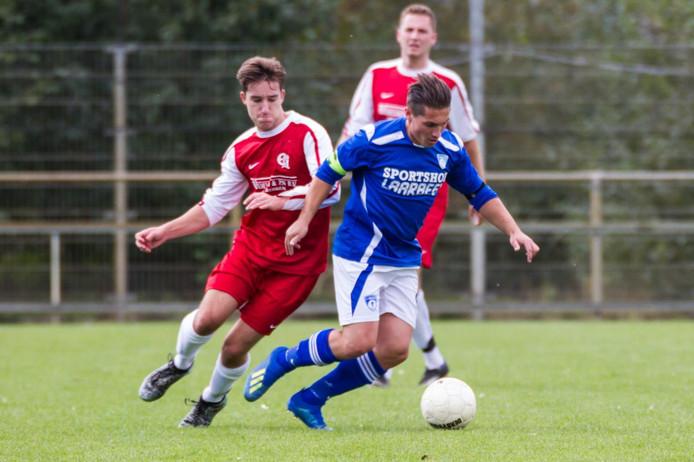 Aanvoerder Robin Kemper scoorde vanmiddag tweemaal voor Bruheze