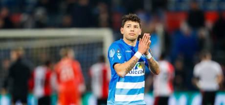 PEC Zwolle-smaakmaker Gustavo Hamer staat voor miljoenentransfer naar Engeland