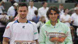 """Hij klopte als eerste Nadal op Roland Garros, nadien verzeilde Söderling in zwarte afgrond: """"Ik lag huilend op bed en keek telkens in de leegte"""""""
