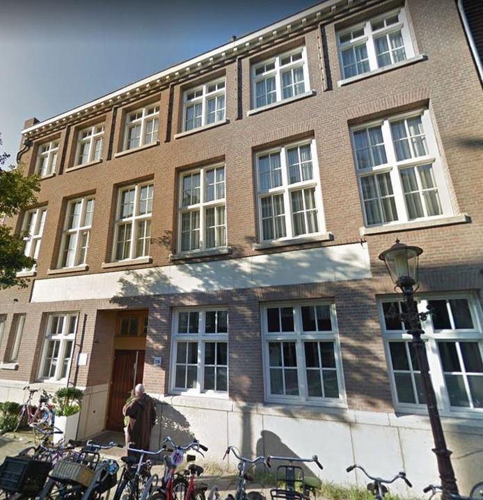 De El Tawheed-moskee in Amsterdam-West.