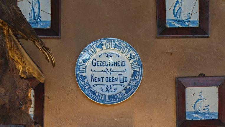 Alsof de tijd heeft stil gestaan in Hotel van der Werff op Schiermonnikoog. Beeld Saskia Aukema