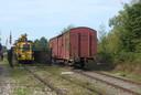 Veghel heeft al een oude loc en wagons op het Duits Lijntje staan als publiekstrekker.