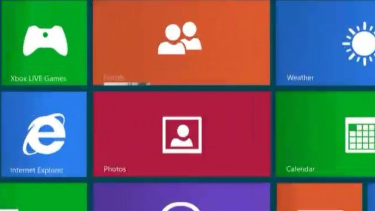 Windows 8. Beeld