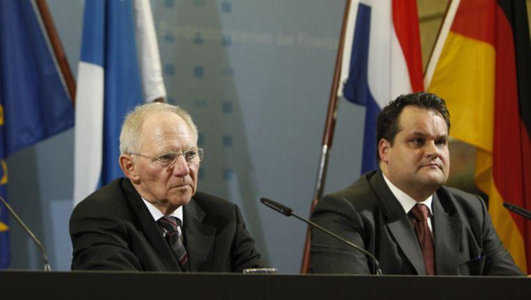 Schäuble en De Jager Beeld null