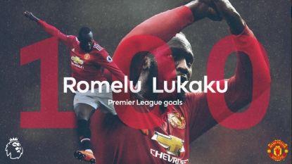 Mijlpaal voor Romelu Lukaku: jongste buitenlander die de kaap van 100 goals rondt in de Premier League
