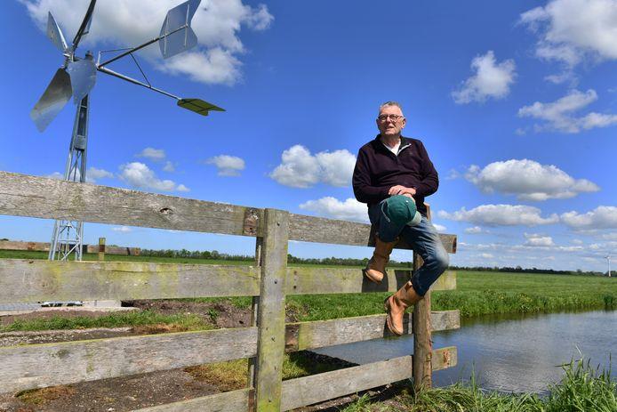 Kees Overbeek van de Agrarische Natuurvereniging Lopikerwaard.