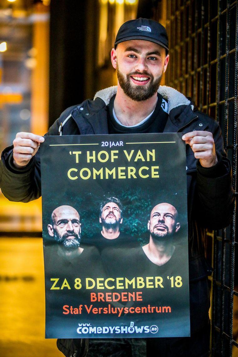 Dylan Sanders, die samen met Skumic 'Kleine Sanders' vormt. Op 8 december treedt de hiphopband een laatste keer op, maar wel in het voorprogramma van echt Vlaamse hiphopgoden.