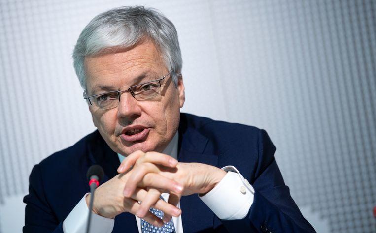 Europees Commissaris van Justitie Didier Reynders