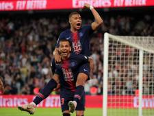 Mbappé zet titel PSG kracht bij met hattrick