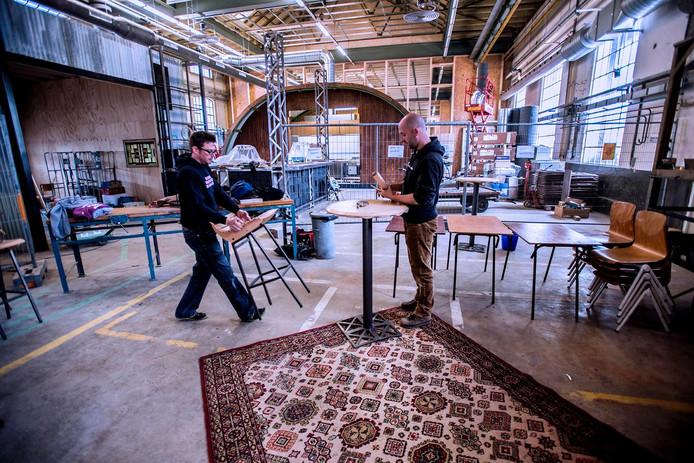 Werkzaamheden in RAW. Foto Jan van Eijndhoven
