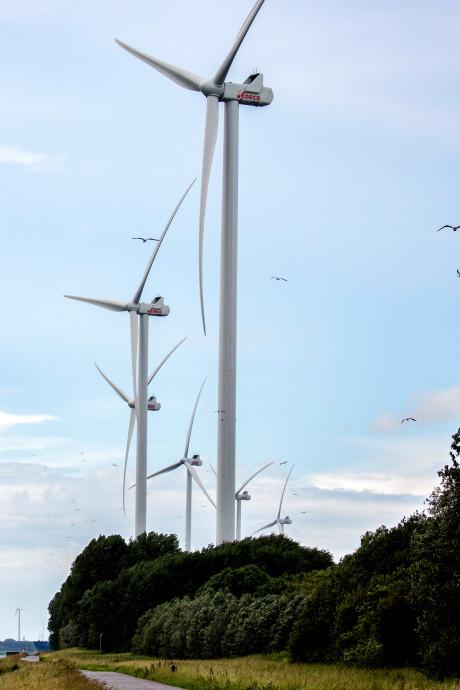Turbines in gebruik, bewoners doen mee