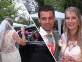 Mandy & Tjeerd hebben drive-through bruiloft: 'Het etentje is bij de McDonald's'