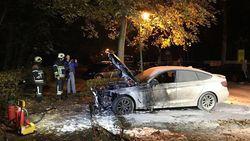 BMW uitgebrand in Schilde, brandstichting niet uitgesloten