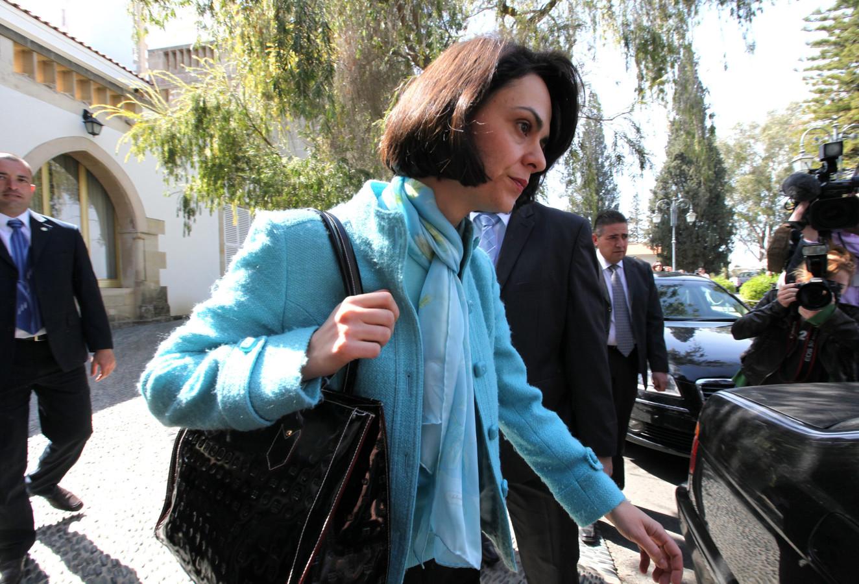 Delia Velculescu, cheffe de mission du FMI.