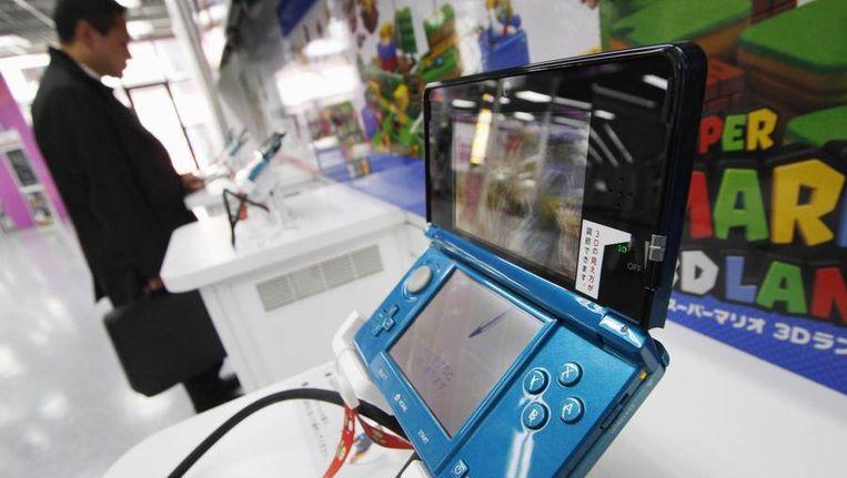 Een Nintendo 3DS-spelcomputer op archiefbeeld. Beeld Reuters
