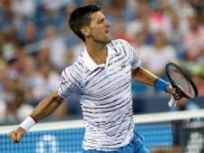 Novak Djokovic n'imite pas Roger Federer et rejoint les quarts à Cincinnati