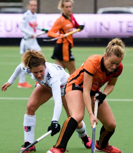 Hockeysters Oranje-Rood balen van gelijkspel bij Kampong