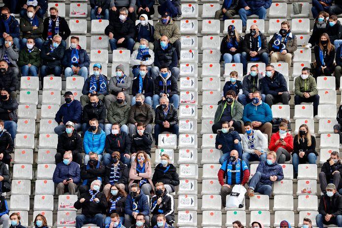 Supporters van Club Brugge.