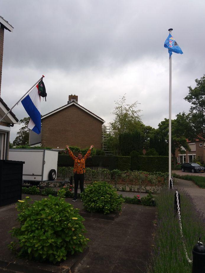 Kimberley van den Berg is ook geslaagd.