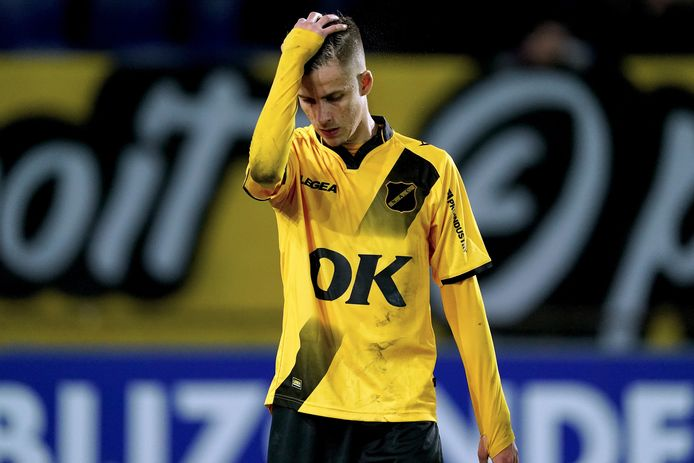 Luka Ilic is teleurgesteld.