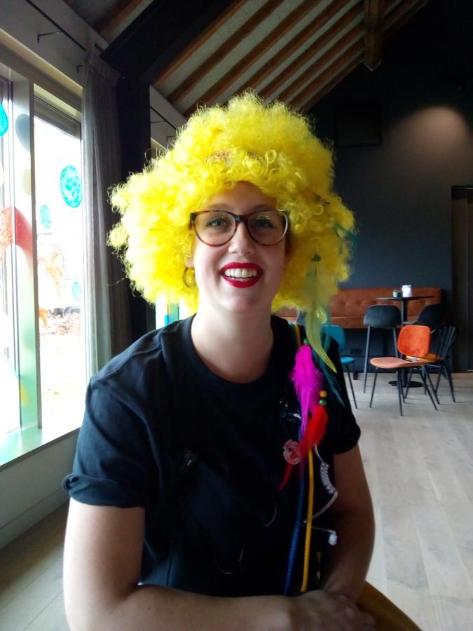 Emma Stieger, voorzitster Keinderkupkesfestival Drunen