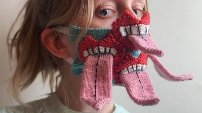 Coronacreativiteit: de meest originele mondmaskers