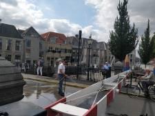 Engelenburgerbrug in Dordrecht begeeft het: slagbomen blijven dicht
