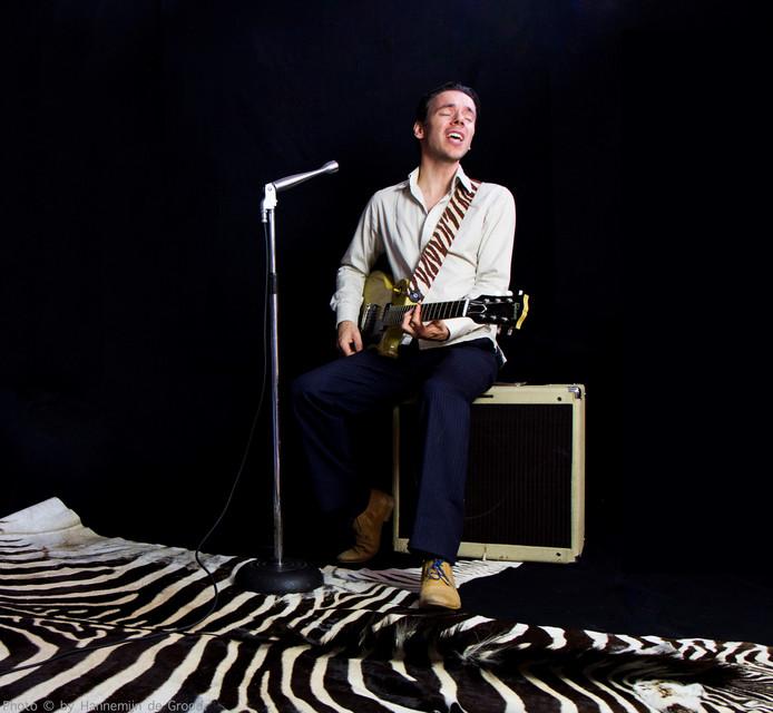 Steven van der Nat maakt met zijn blues-repertoire onderdeel uit van de Orion-route.
