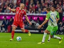 Goal Robben kan pijnlijk puntenverlies niet voorkomen