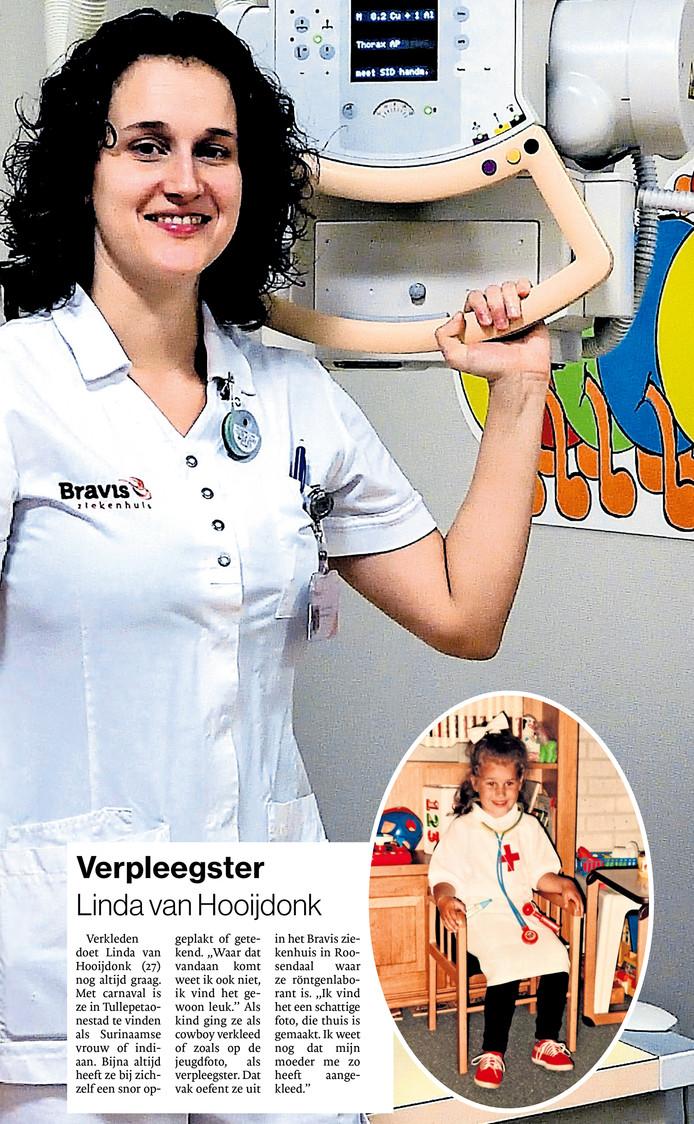Verpleegster Linda van Hooijdonk