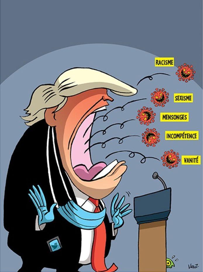 """Extrait de """"Les années Trump""""."""