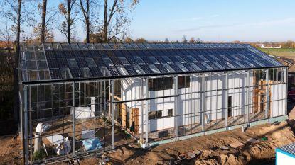 Primeur in België: gezin verhuist naar eerste autonome bio-ecologische woning-in-een-serre