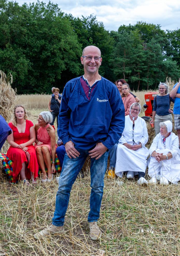 Marcel Strijtveen is op de Roggemaaiersdag benoemd tot Sallandse Boer 2019.