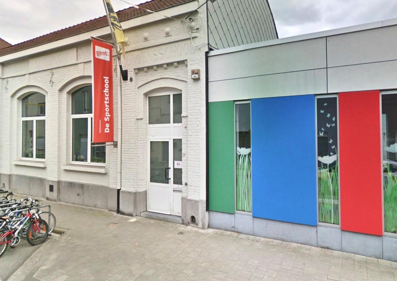 Stedelijke basisschool De Sportschool in Gentbrugge.