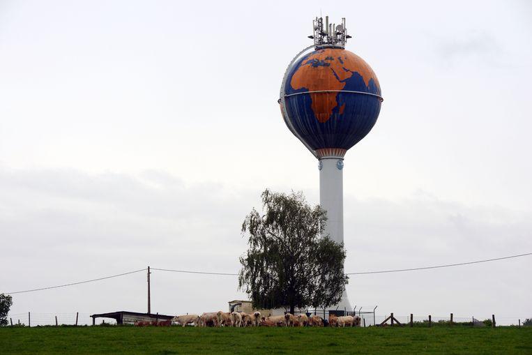 De watertoren in Bierbeek.