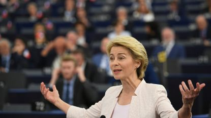 """Steun voor Von der Leyen lijkt te groeien na ultieme oproep:""""EU is als een lang huwelijk, de liefde wordt niet groter, maar dieper"""""""
