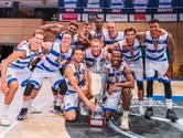 Basketbal eredivisie afgesloten zonder kampioen, teleurstelling voor Landstede Hammers