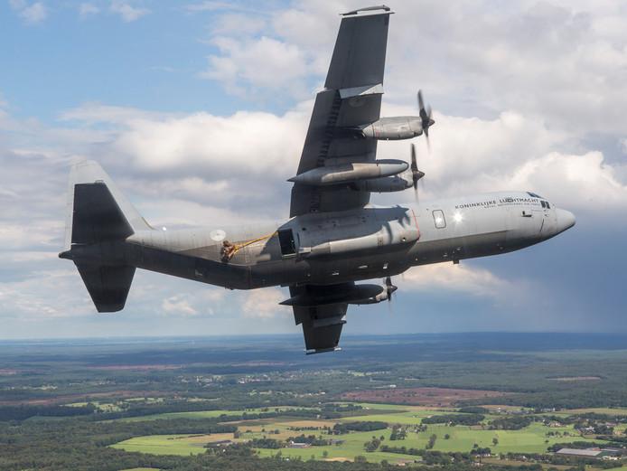 Een Hercules C-130.