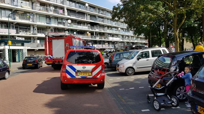 Brand in Veenendaalse flat.