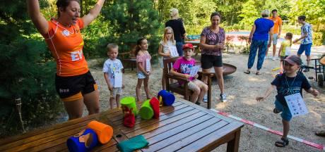 Spelletjes Battle in de tuin van Villa Pardoes: Een extra wow-momentje