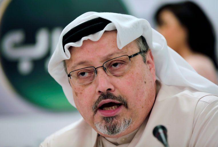 De vermoorde journalist Jamal Khashoggi