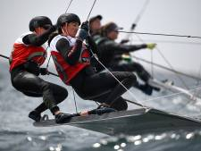 Succes Nederlandse zeilers in Enoshima