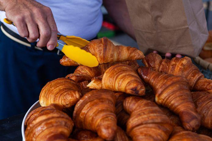 Een echte croissant? Of gewoon uit de fabriek?