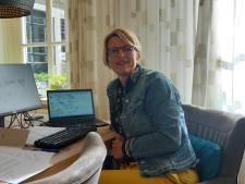 Verslaggever Mariëtte sprak West-Brabant achter glas: 'Iedereen probeert de situatie positief in te zien'