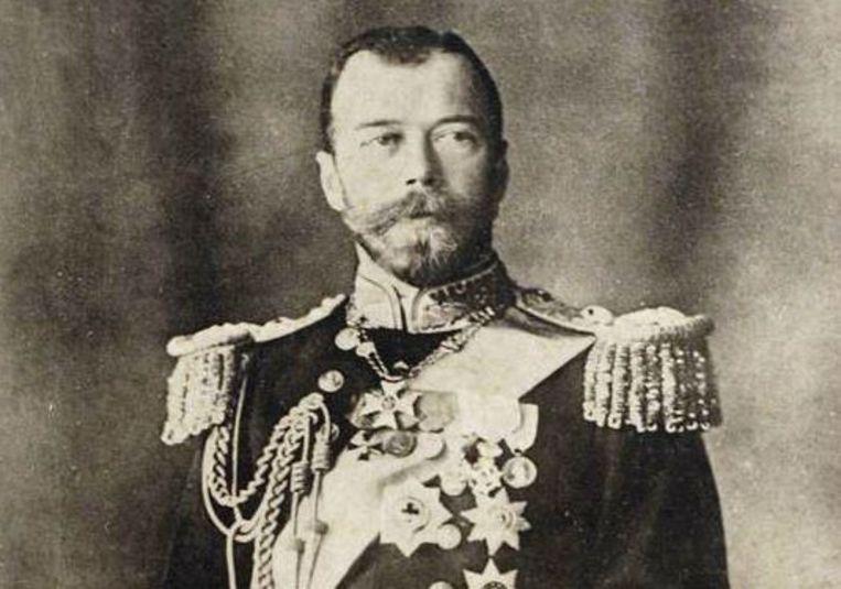 Tsaar Nicholaas II deed afstand van de troon in maart 1917. Hij werd op 17 juli 1918 geëxecuteerd.  Beeld AFP